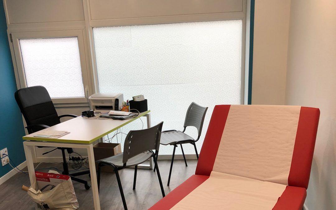 Nouveau bureau du Dr Guérin