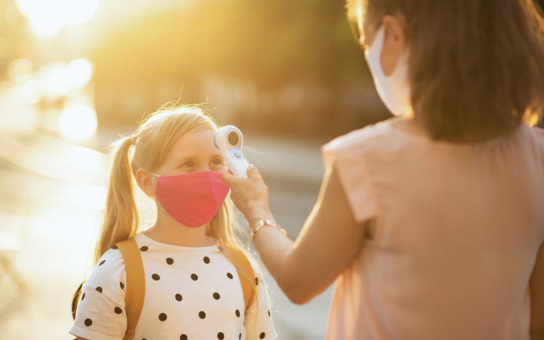Covid et collectivité : que faire si votre enfant est malade ?